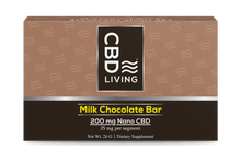 Load image into Gallery viewer, CBD Living Milk Chocolate - 200mg