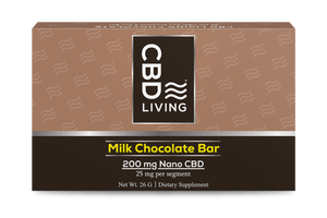 CBD Living Milk Chocolate - 200mg