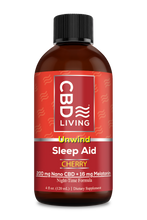 Load image into Gallery viewer, CBD Sleep Aid Syrup 200mg - Cherry