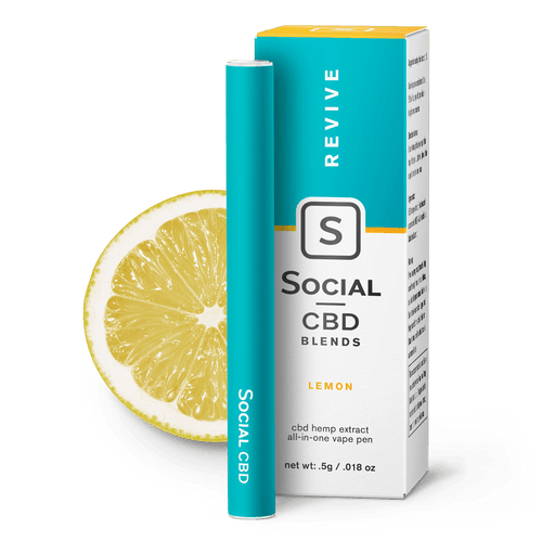 Social CBD Revive | Lemon Vape Pen