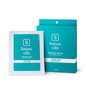 Social CBD Patch – 100mg