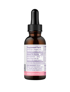 Ultra Broad Spectrum CBD Oil 1000mg Strawberry Mint