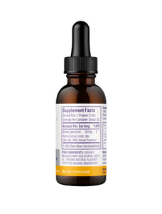 Ultra Broad Spectrum CBD Oil 2000mg Citrus