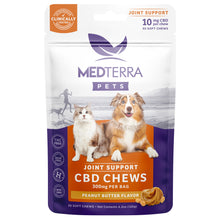 Load image into Gallery viewer, Medterra Pet CBD Joint Support Chews
