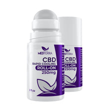 Load image into Gallery viewer, Medterra CBD Rapid Cooling Roll-On 250mg CBD / Hemp Cream Los Angeles