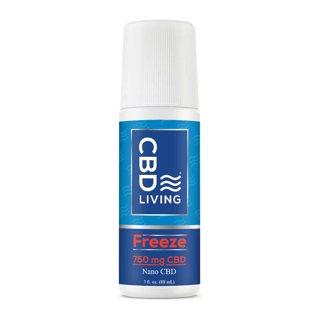 CBD Living Freeze Roll On - 750mg