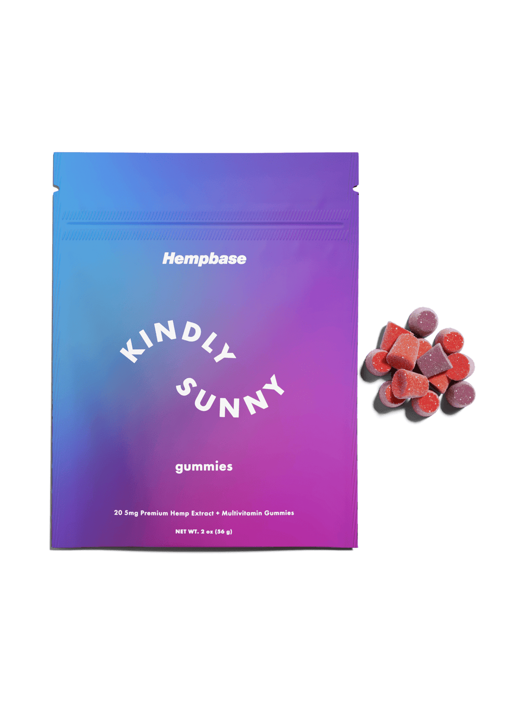 Hempbase - CBD Vegan Gummies - Best CBD Hemp gummies for pain
