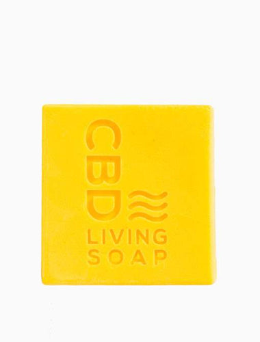 CBD Living Soap 60mg Coconut Lime - CBD Hemp Stress relief