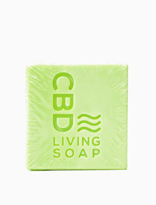 CBD Living Soap 60mg Eucalyptus - CBD Oils, Gummies, Pain Cream
