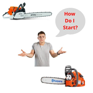 How do I start a Chainsaw?