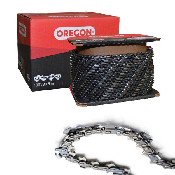 "Oregon Harvester Chain 19HX Chamfer Chisel® .404"" .080"" 100ft"