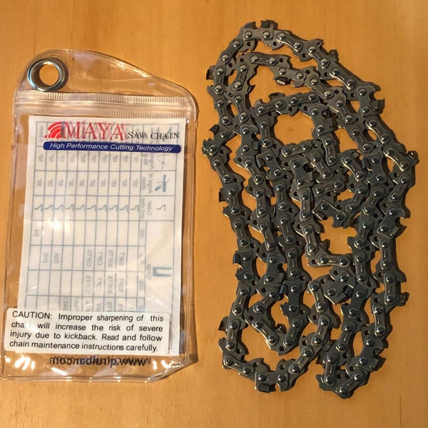 Tungsten Carbide Tipped Chainsaw Chain 3/8LP .050 52DL, Whites Forestry Equipment, Strzelecki Trading