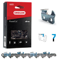 "Oregon Chainsaw Chain Full Chisel 68LX .404"" .063"" 123DL"