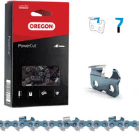 "Oregon PowerCut™ Full Chisel Skip-Tooth Saw Chain 3/8"" .058"" 93DL"