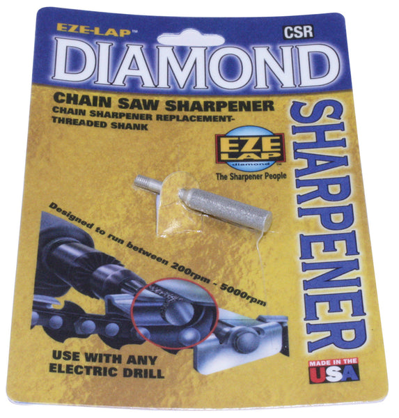 "Eze-Lap Diamond Chainsaw Chain Sharpener 5/32"" Treaded"