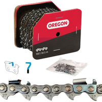 "Oregon Chainsaw Chain 27AX .404"" .063"" 100ft Micro Chisel"