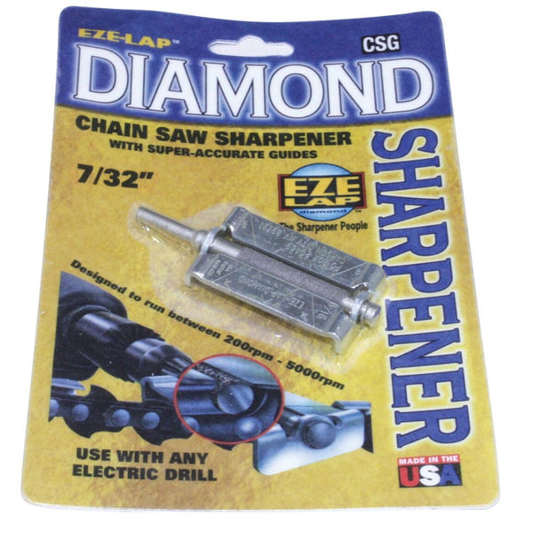 "Eze-Lap Diamond Chainsaw Chain Sharpener - 7/32"" - With Guide, Whites Forestry Equipment, Strzelecki Trading"