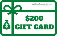 Gift Card $200 - Whites Forestry Equipment