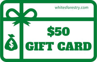 Gift Card $50 - Whites Forestry Equipment