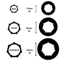 "GB Rim Sprocket 7-Tooth 3/8"" Small Spline 10-pack"