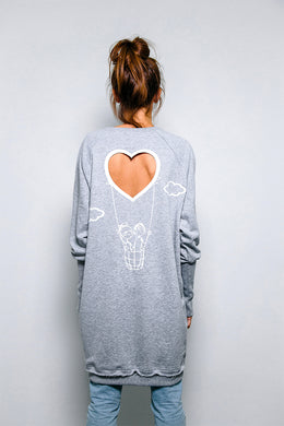 Wholly Boy Girl 3 Sweatshirt