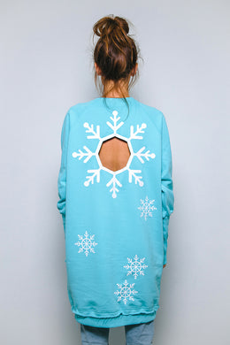 Wholly Snowflake 4 Sweatshirt