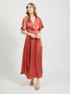 VIFLOATING S/S ANCLE DRESS