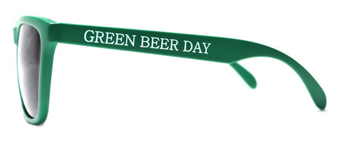 Green Beer Day Sunglasses