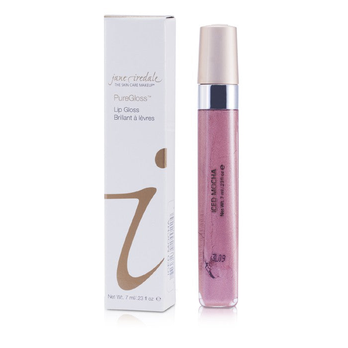 Jane Iredale PureGloss Lip Gloss (New Packaging) - Iced Mocha 7ml
