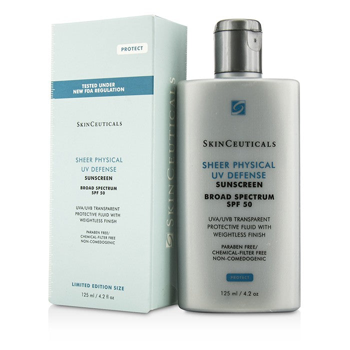 Skin Ceuticals Sheer Physical UV Defense SPF 50 - Limited Edition Size 125ml