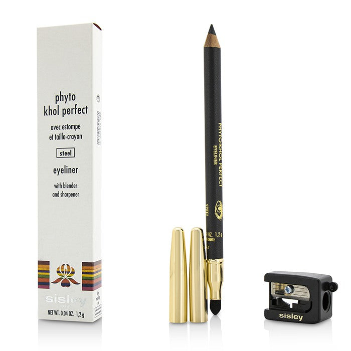 Sisley Phyto Khol Perfect Eyeliner (With Blender and Sharpener) - # Steel 1.2g