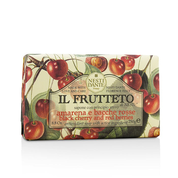Nesti Dante Il Frutteto Antioxidant Soap - Black Cherry & Red Berries 250g
