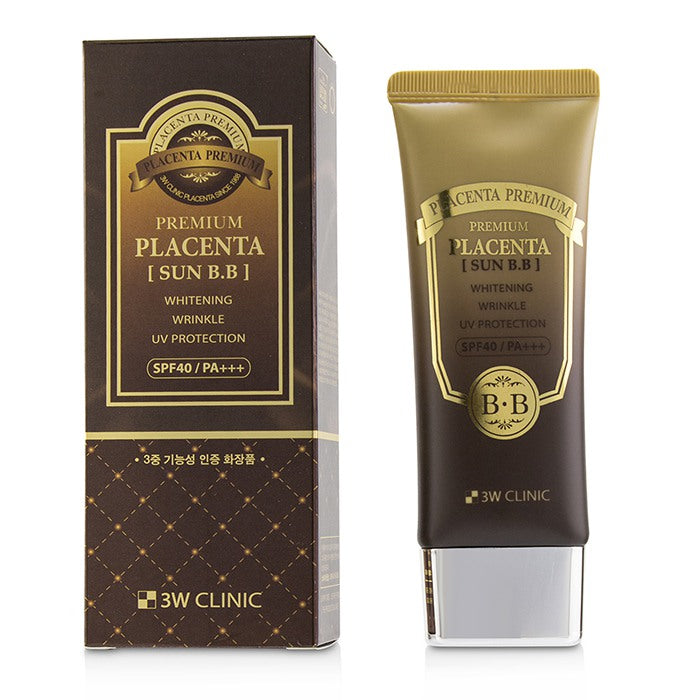 3W Clinic Premium Placenta Sun BB Cream SPF 40/ PA+++ 70ml