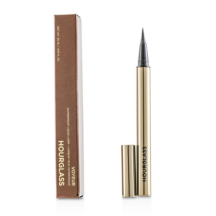 HourGlass Voyeur Waterproof Liquid Liner - # Ultra Black 0.55ml