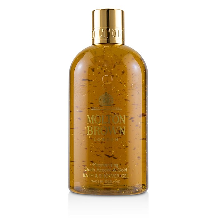 Molton Brown Mesmerising Oudh Accord & Gold Bath & Shower Gel 300ml