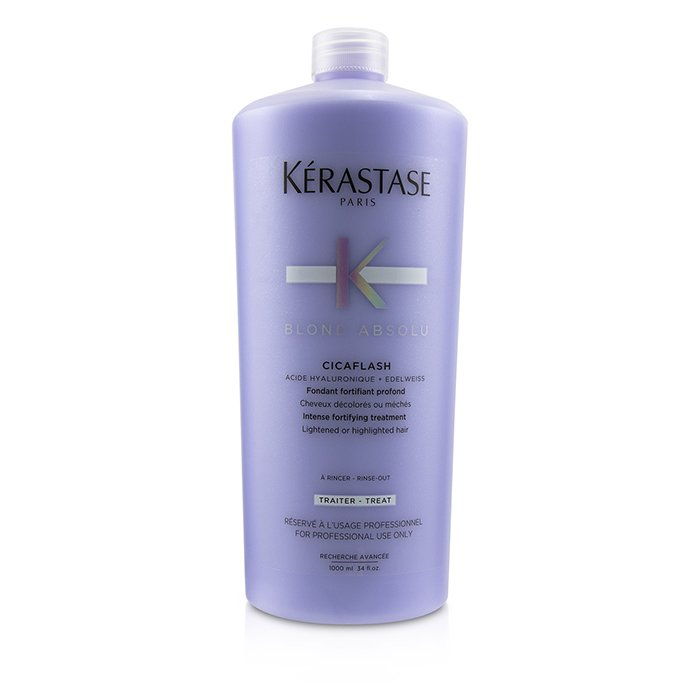 Kerastase Blond Absolu Cicaflash Intense Fortifying Treatment (Lightened or Highlighted Hair) 1000ml