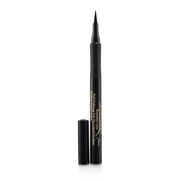 Elizabeth Arden Beautiful Colour Bold Defining Felt Tip Liquid Eyeliner - # 01 Seriously Black 1.2ml