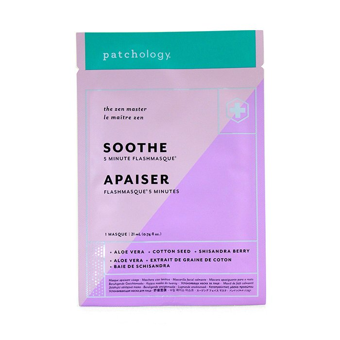 Patchology FlashMasque 5 Minute Sheet Mask - Soothe 4x21ml
