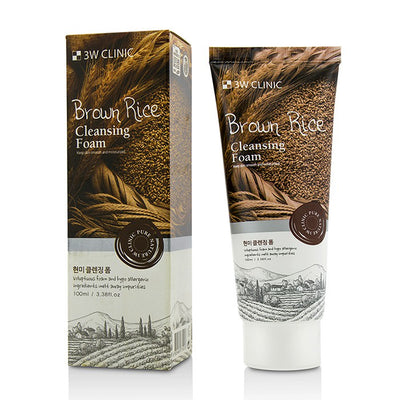 3W Clinic Cleansing Foam - Brown Rice 100ml