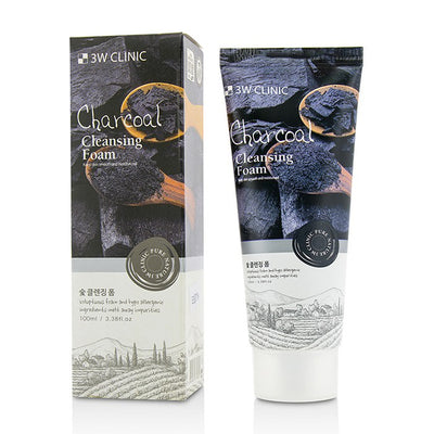 3W Clinic Cleansing Foam - Charcoal 100ml
