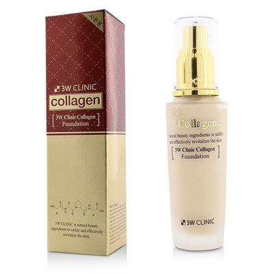 3W Clinic Collagen Foundation - # 21 (Transparent Beige) 50ml