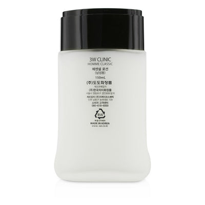 3W Clinic Homme Classic - Moisturizing Freshness Essential Lotion 150ml