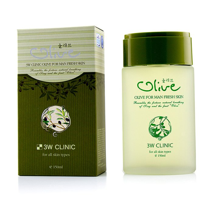 3W Clinic Olive For Man - Fresh Skin 150ml