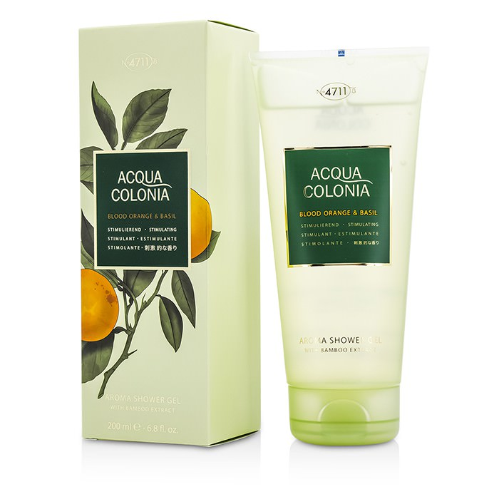 4711 Acqua Colonia Blood Orange & Basil Aroma Shower Gel 200ml