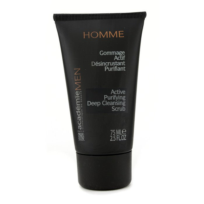Academie Men Active Purifying Deep Cleansing Scrub 75ml
