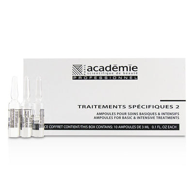 Academie Specific Treatments 2 Ampoules Collagene Marin (Light Yellow) - Salon Product 10x3ml