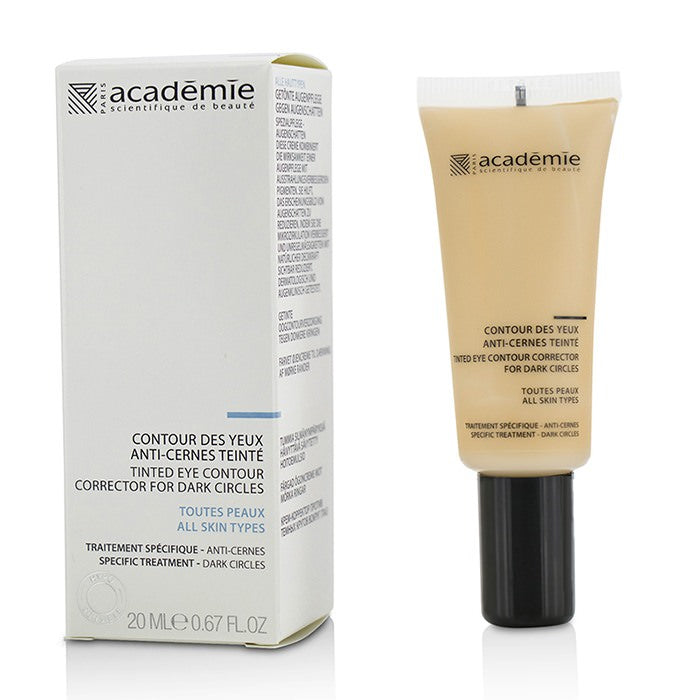 Academie Tinted Eye Contour Corrector For Dark Circles 20ml