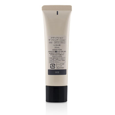 ADDICTION The Foundation SPF 12 - # 002 (Porcelain Rose) 30ml