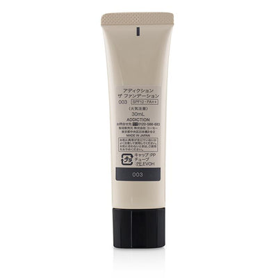 ADDICTION The Foundation SPF 12 - # 003 (Cool Ivory) 30ml