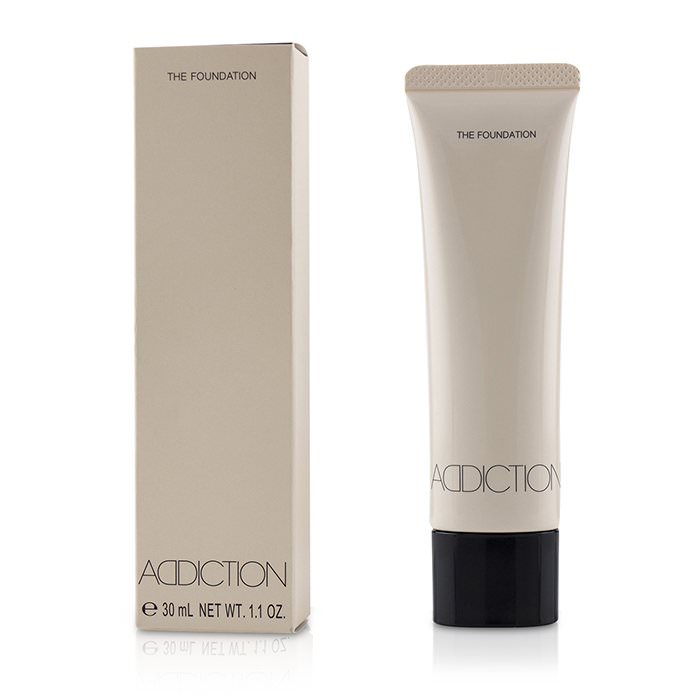 ADDICTION The Foundation SPF 12 - # 008 (Pure Beige) 30ml